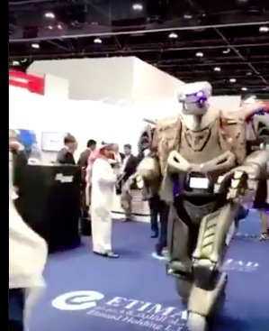 7.4 Million Dollar Robot Bodyguard